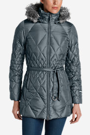 Women's Slope Side® Down Parka in Gray