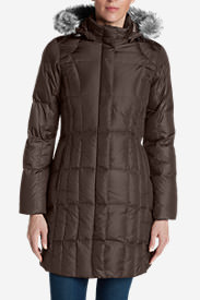 Women's Lodge Down Parka in Gray