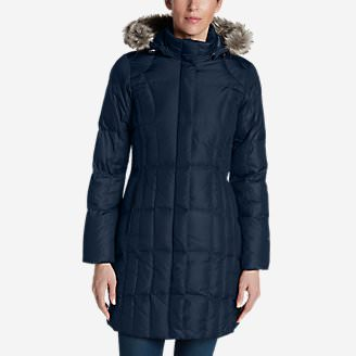 Women's Lodge Down Parka in Blue