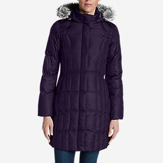 Women's Lodge Down Parka in Purple