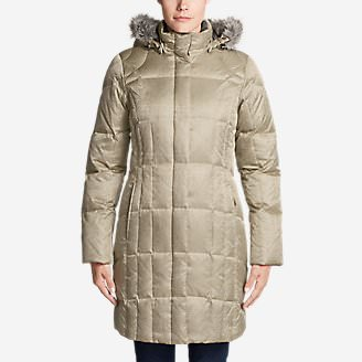Women's Lodge Down Parka in Yellow