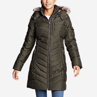 Women's Sun Valley Down Parka in Green