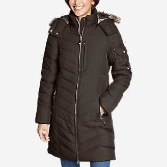 Women's Sun Valley Down Parka in Brown