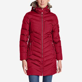 Women's Sun Valley Down Parka in Red