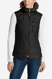 Women's Yukon Classic Down Vest in Black