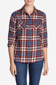 Women's Stine's Favorite Flannel Shirt - Plaid in Brown