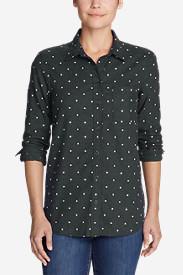 Women's Stine's Favorite Flannel Shirt - One-Pocket Boyfriend in Gray