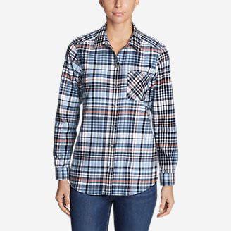 Women's Stine's Favorite Flannel Shirt - Boyfriend in Blue