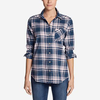 Women's Stine's Favorite Flannel Shirt - Boyfriend in Red