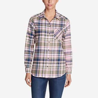 Women's Stine's Favorite Flannel Shirt - Boyfriend in Pink