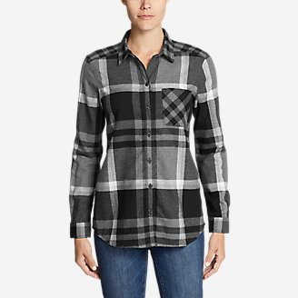 Women's Stine's Favorite Flannel Shirt - Boyfriend in Gray