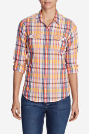Women's Classic Packable Shirt Tall in Red