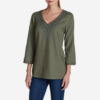 Women's Vista Point Tunic in Green