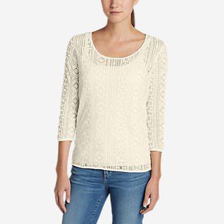 Women's Azalea Top in White