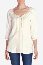 Women's Vista Point Dobby Tunic in White