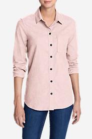 Women's Stine's Favorite Flannel Shirt - Boyfriend, Heather in Pink