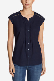 Women's Vista Point Short-Sleeve Top in Blue