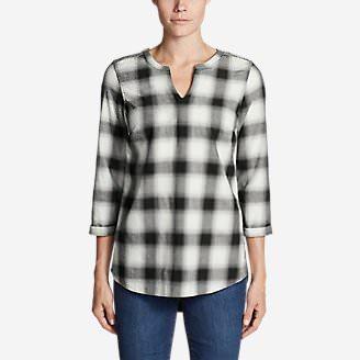 Women's Stine's Favorite Flannel Tunic in Black