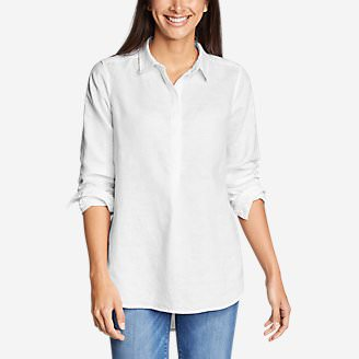 Women's Emmons Vista Long-Sleeve Tunic in White