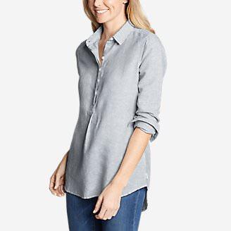Women's Emmons Vista Long-Sleeve Tunic in Blue
