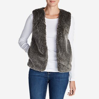 Women's Bumble Vest in Beige