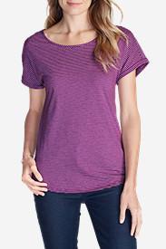 Women's Girl On The Go® Gate Check Top - Stripe in Purple