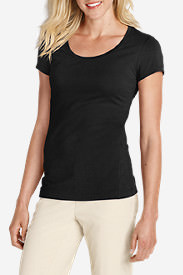 Women's Lookout Short-Sleeve T-Shirt - Solid in Black