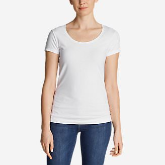 Women's Lookout Short-Sleeve T-Shirt - Solid in White