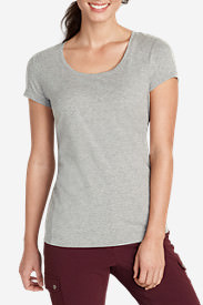 Women's Lookout Short-Sleeve T-Shirt - Solid in Gray