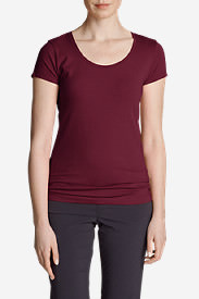 Women's Lookout Short-Sleeve T-Shirt - Solid in Red