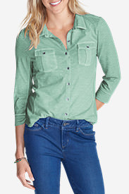 Women's Ravenna Shirt in Green