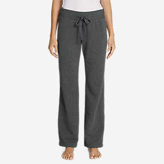 Women's Brushed Fleece Pants in Gray