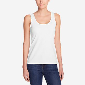 Women's Layerific Tank Top - Solid in White