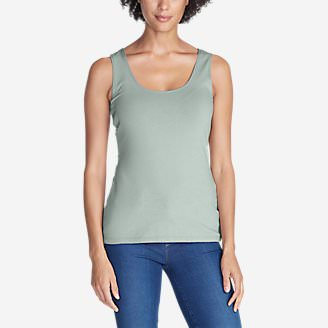 Women's Layerific Tank Top - Solid in Green