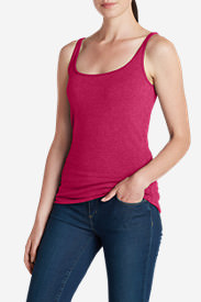 Women's Layerific Cami - Solid in Red