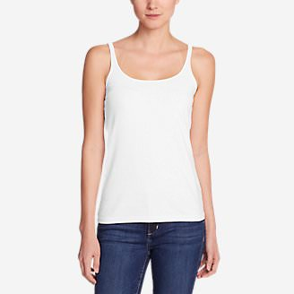 Women's Layerific Cami - Solid in White