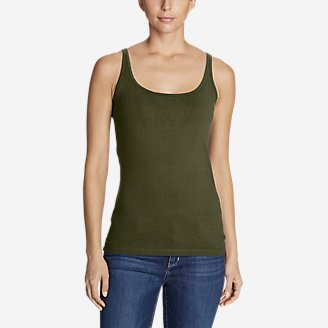 Women's Layerific Cami - Solid in Green
