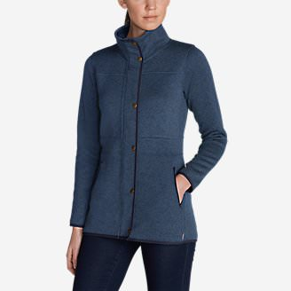 Women's Radiator Fleece Field Jacket in Blue