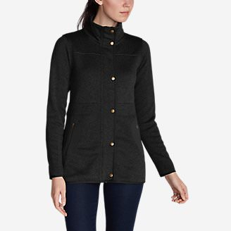Women's Radiator Fleece Field Jacket in Black