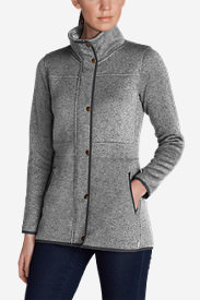 Women's Radiator Fleece Field Jacket in Gray