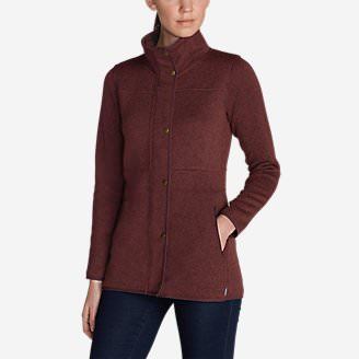 Women's Radiator Fleece Field Jacket in Red