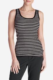 Women's Lookout Tank Top - Stripe in Black