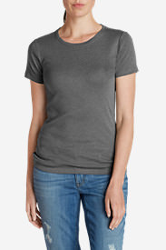 Women's Favorite Short-Sleeve Crewneck T-Shirt in Gray