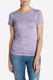 Women's Favorite Short-Sleeve Crewneck T-Shirt in Purple