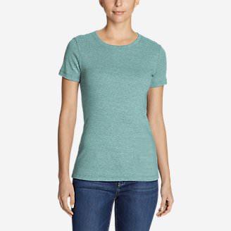 Women's Favorite Short-Sleeve Crewneck T-Shirt in Blue