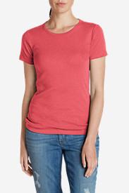 Women's Favorite Short-Sleeve Crewneck T-Shirt in Pink