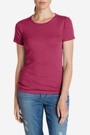 Women's Favorite Short-Sleeve Crewneck T-Shirt in Red