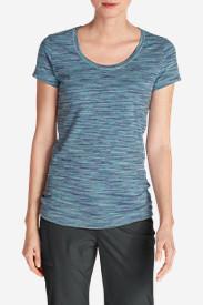 Women's Lookout T-Shirt - Space Dye in Blue