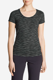 Women's Lookout T-Shirt - Space Dye in Gray