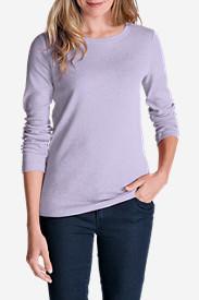 Women's Favorite Long-Sleeve Crewneck T-Shirt Tall in Purple